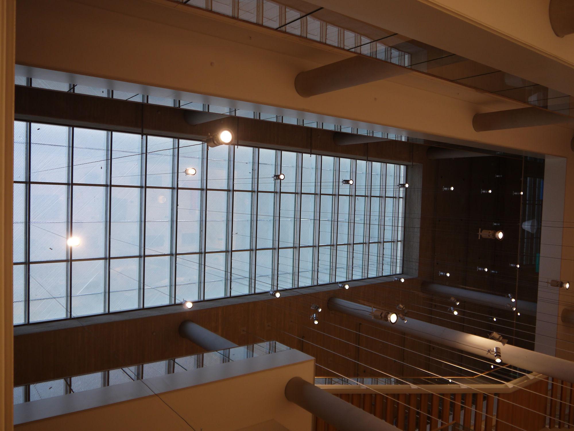 Main atrium National Library