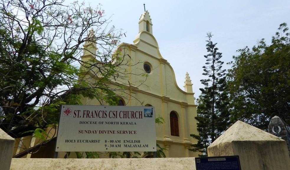 Kirche aus der Zeit der indoportugiesischen Herrschaft