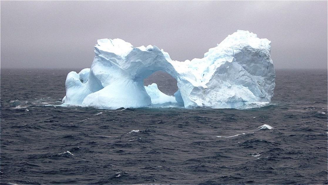 Beeindruckende Eisformen !