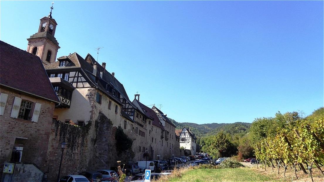 Außerhalb der Stadtmauer - Rue du Steckgraben