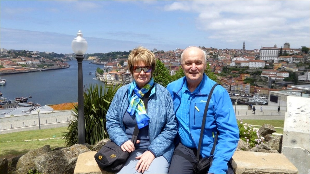 Der Douro und die Altstadt Portos
