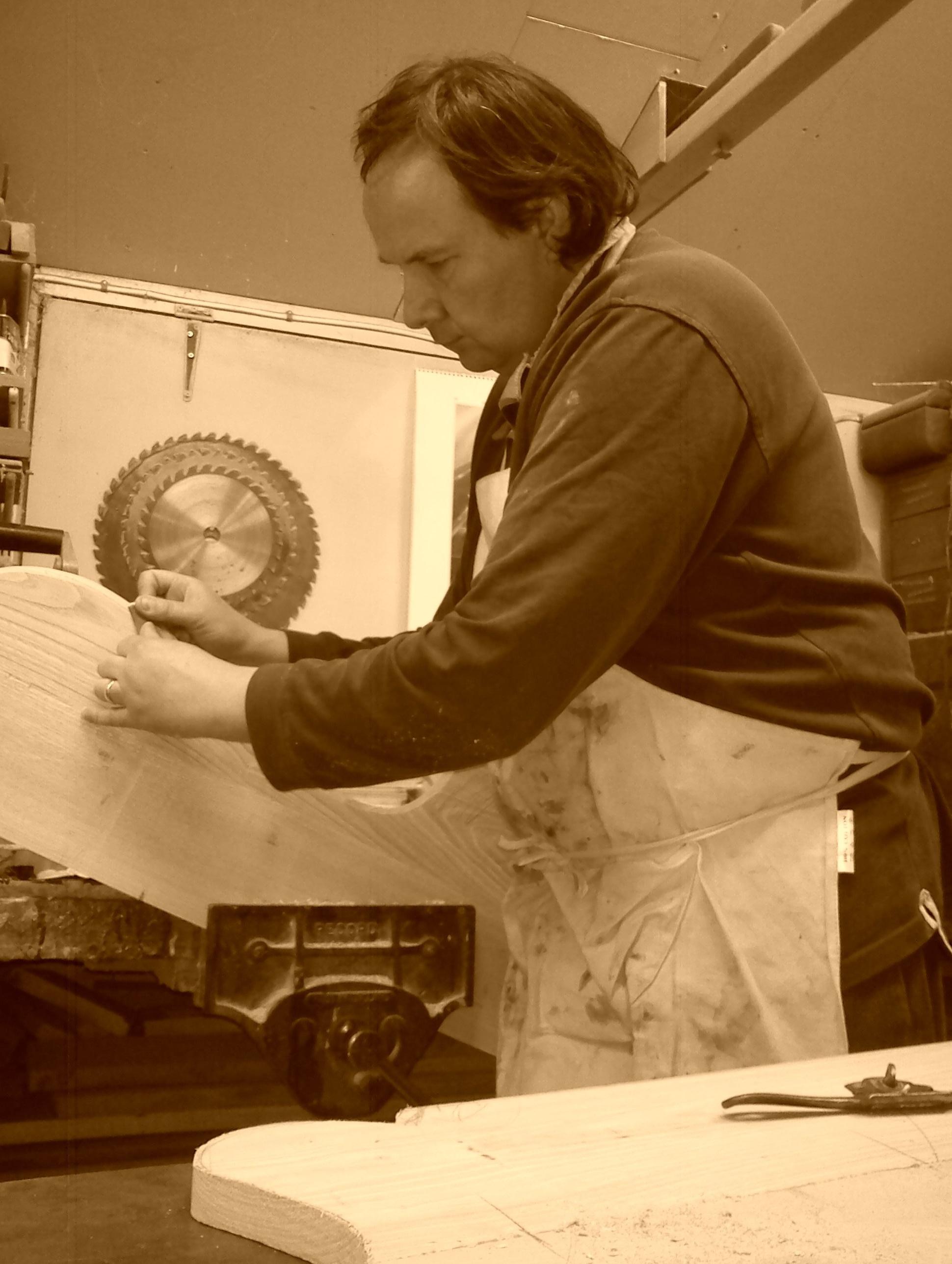 Master craftsman Patrick Turk