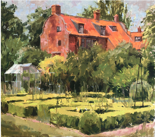 The Dutch House - Oil  by Haidee Jo Summers