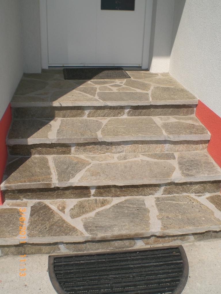 Stufenplatten geschnitten