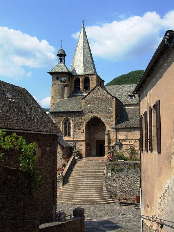 Eglise Saint Fleuret aus dem 15. Jahrhundert