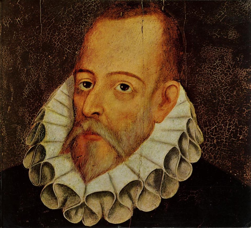Portrait de Miguel de Cervantes Saavedra attribué à Juan de Jauregui.