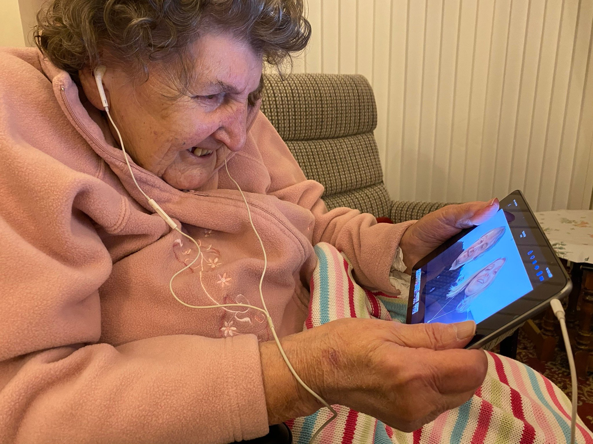 Watching Videos From Loved Ones - 16.02.20