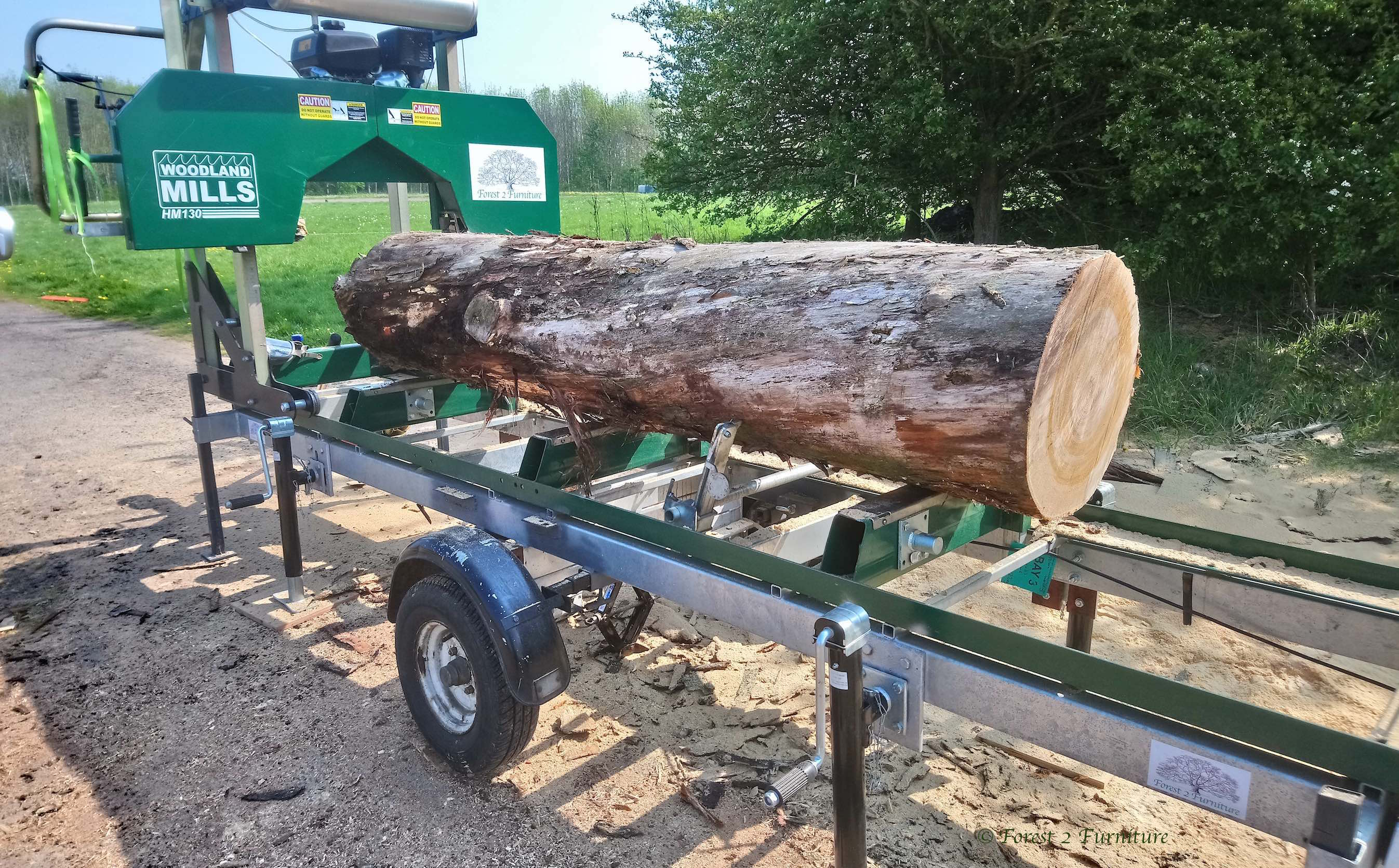 Sweet Chestnut loaded