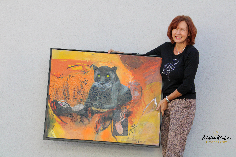Portrait Shooting Künstlerin Margret Obernauer