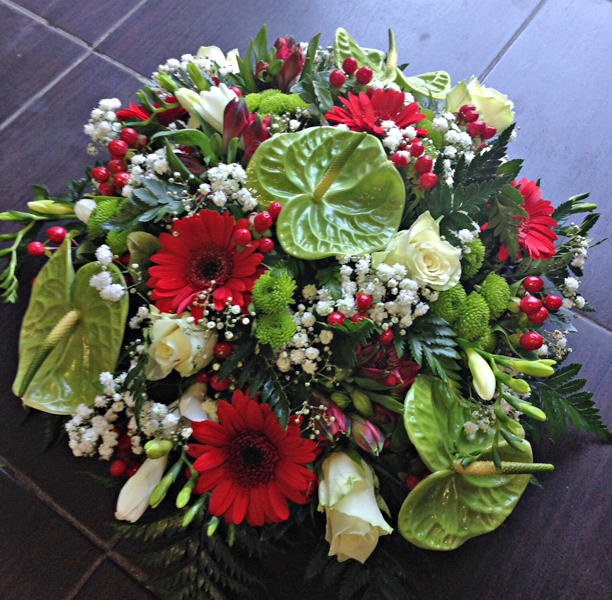 Bouquet rond - 50 €