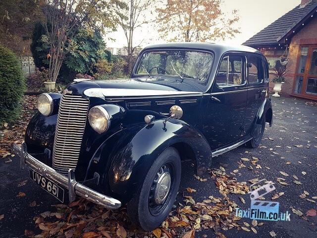 Black Vauxhall Velux 1940's, Bolton ref C0006