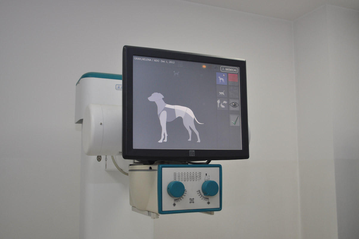 Digitalni rentgenski aparat - zaslon na dotik