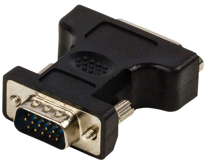 Αντάπτορας VGA αρσ. - DVI-I Dual θηλ.