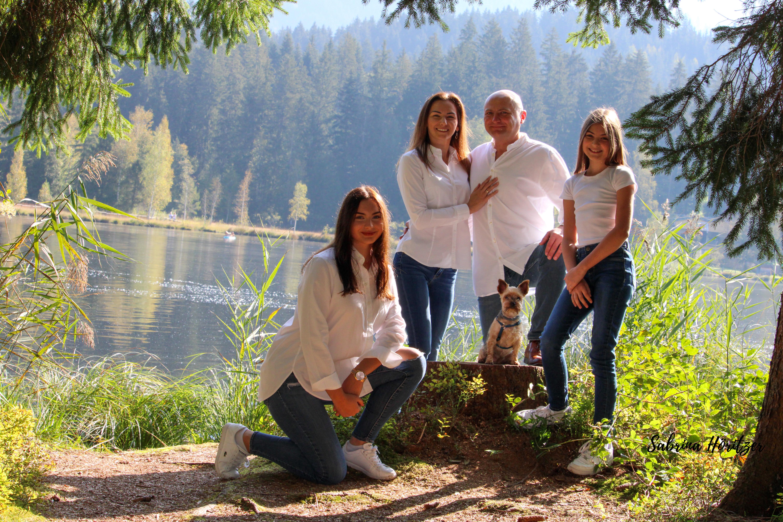 Familien Shooting Schwarzsee Kitzbühel