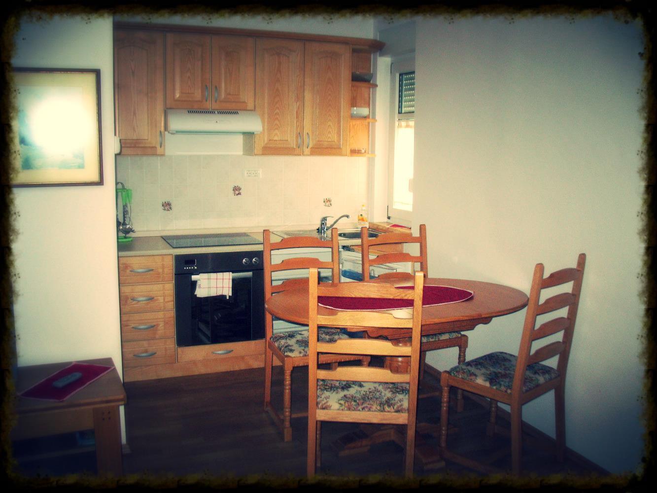 Kitchen in apartment 7