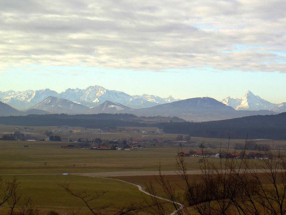 Die Berchdesgadener Alpen