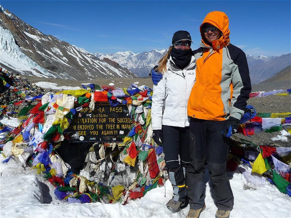 Thorong-La-Pass - 5.416 m - Nepal  April 2012