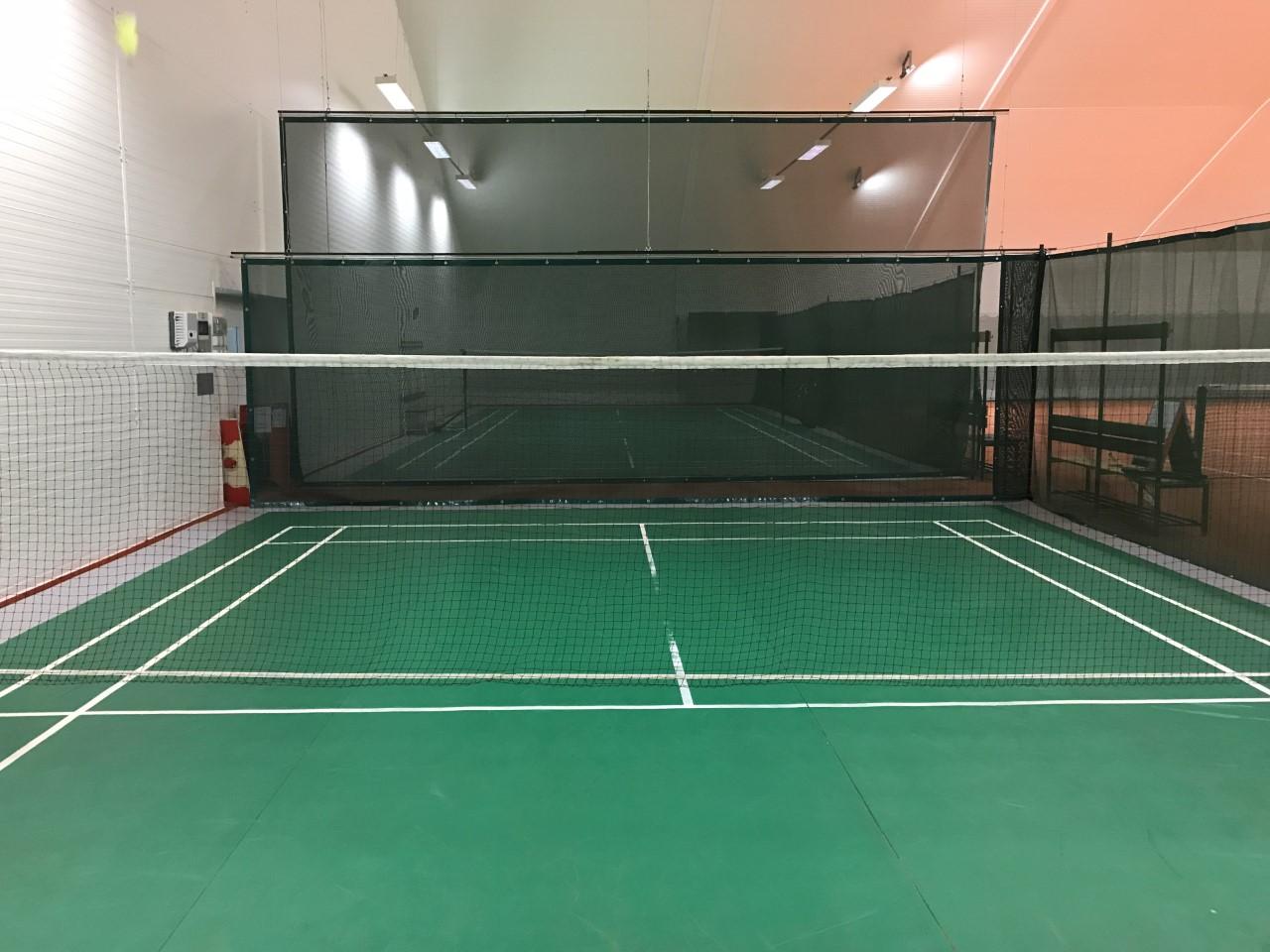 Badminton igrišče v dvorani