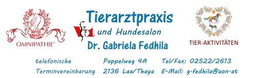 Tierarztpraxis Dr. Gabriela Fedhila