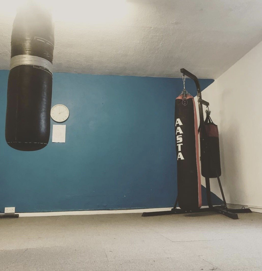 Boxing room - excellent for cardio and conditioning