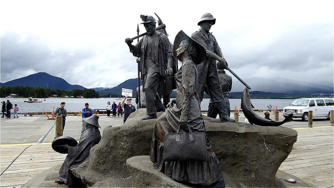 Frauen der Pioniere und Fischer
