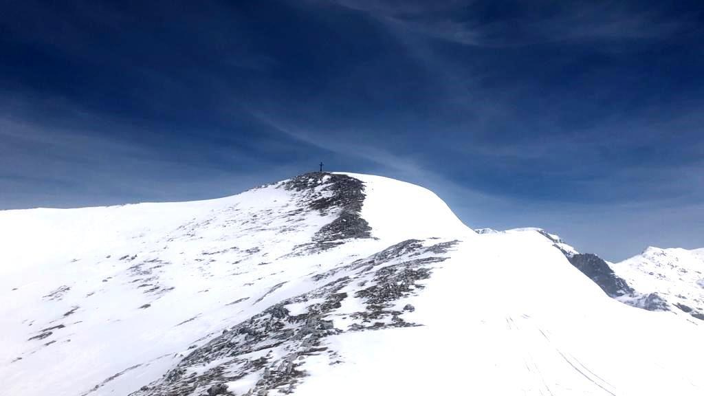 Elm - Gipfelaufbau