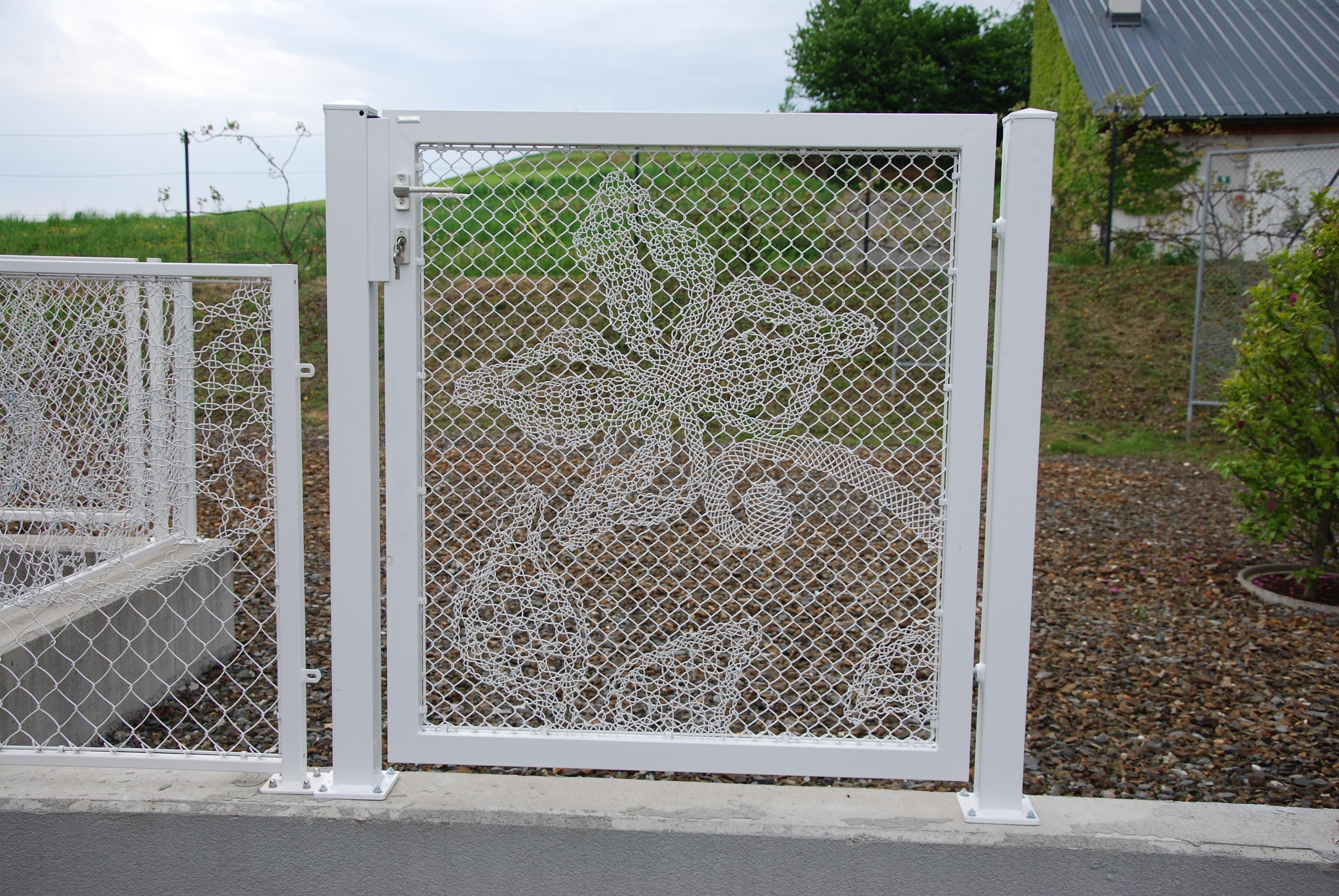 Lace Fence Designtür - € 800,-