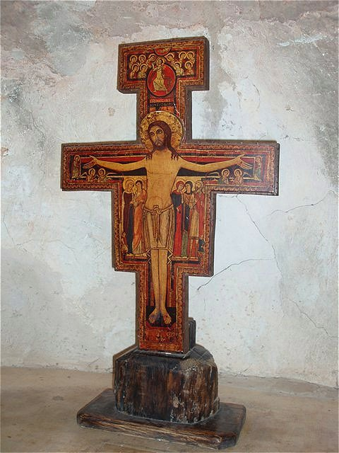 Gebetsnische - Santa Maria delle Carceri, Heilige Maria der Zurückgezogenen