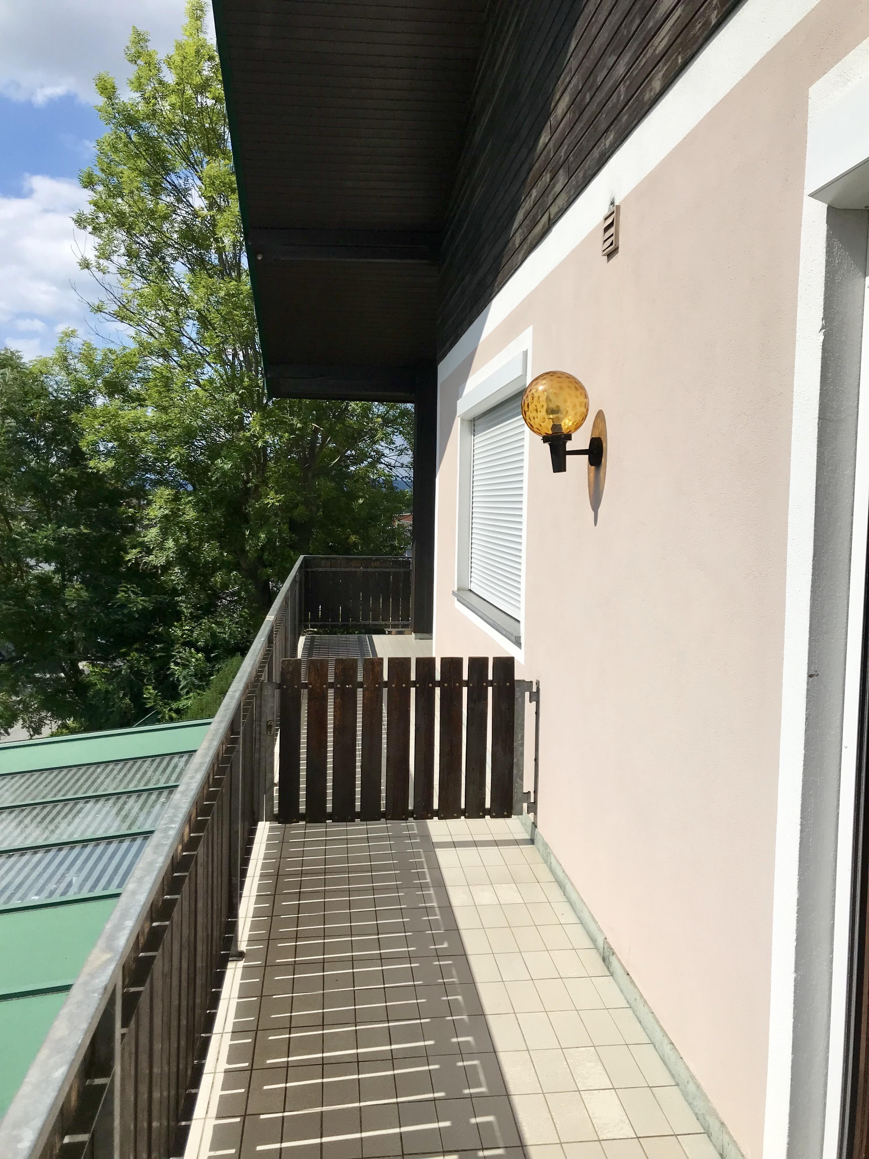 Zimmer Nr. 2 - Balkon