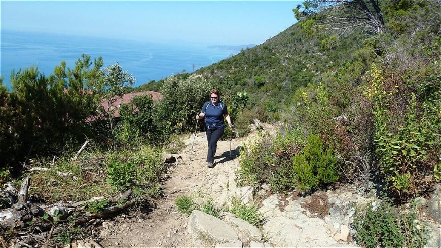 Wanderung durch wilde Natur