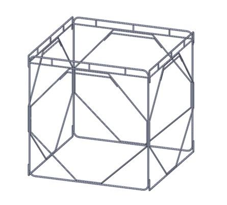 2-Plan armature module cubique