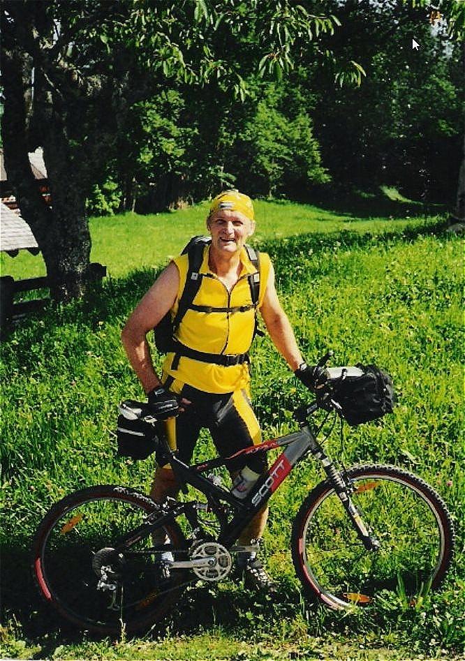Alpentour Steiermark  Scott-Mountainbike
