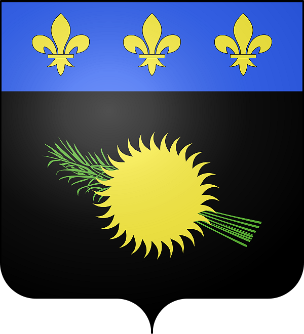 Flagge von Guadeloupe
