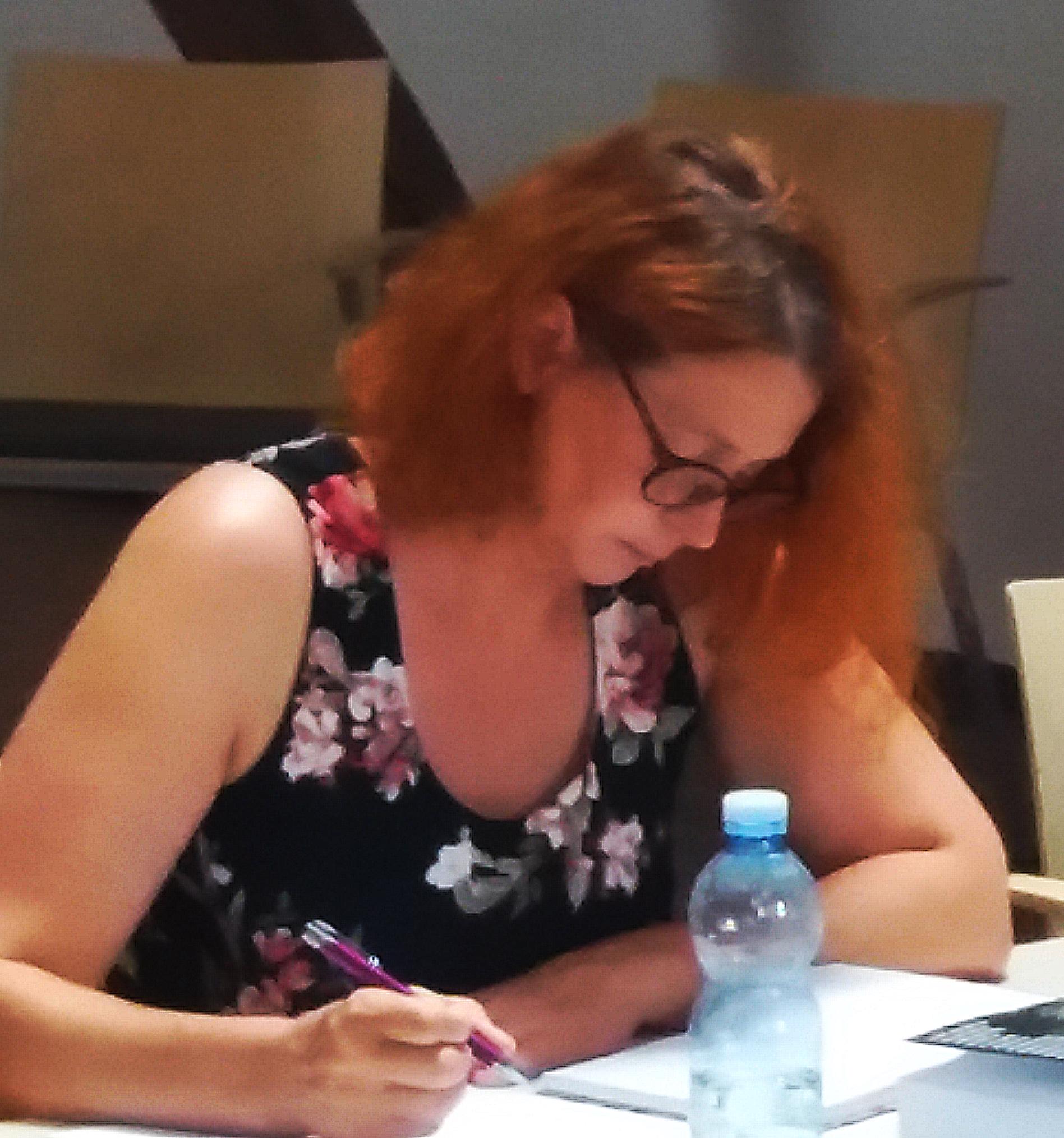 """Ilona Karmasch: """"Wunderbares Seminar, das mir sehr viel geholfen hat. Ich freue mich über weitere. Danke Martin."""""""