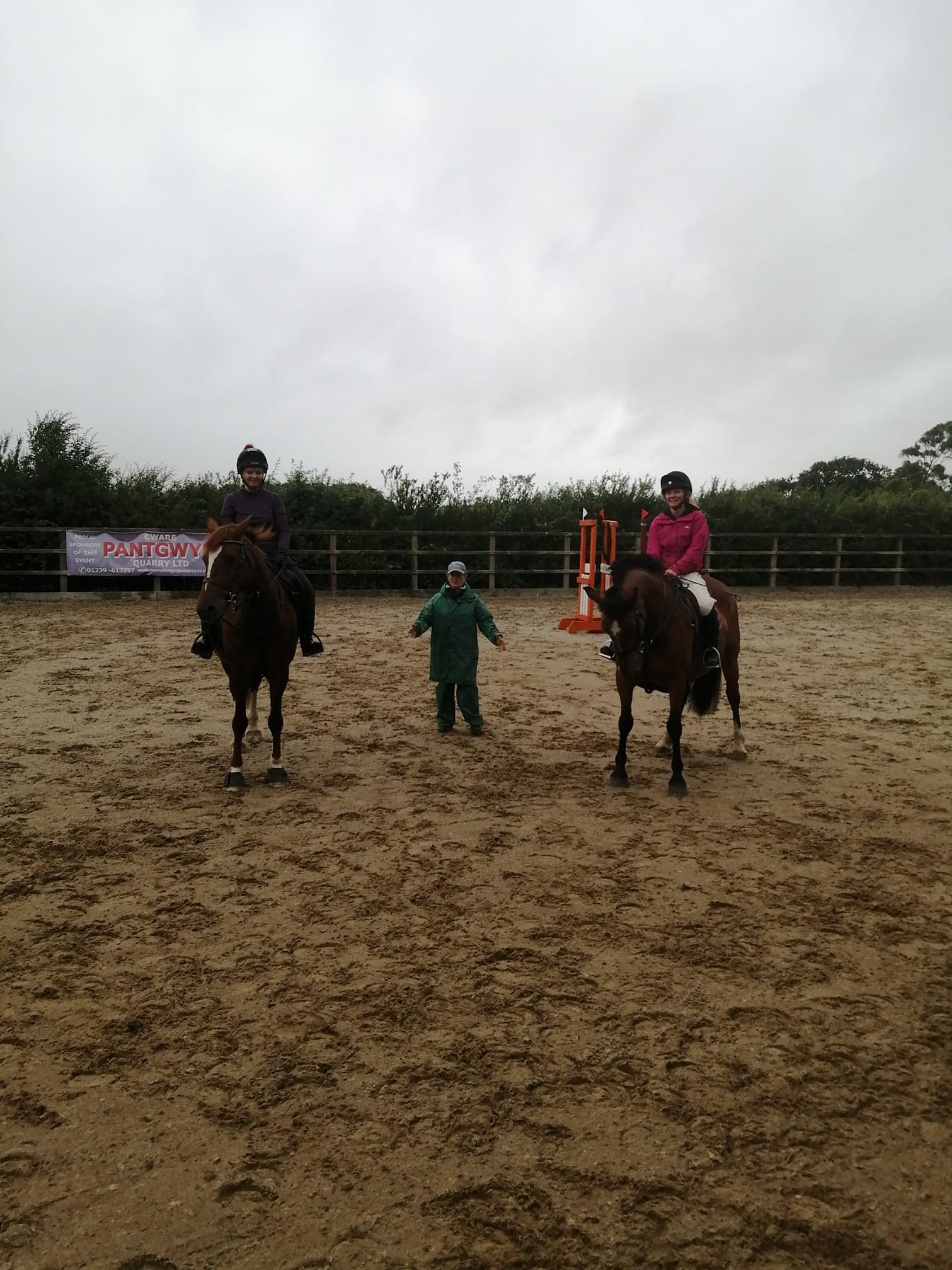 "First Rally of 2020! Welcome Back to all who braved the weather this evening and came to the Polework lesson at Bailey Farm. Thank you - I really enjoyed...and the sun ""almost"" shone! 🙂"