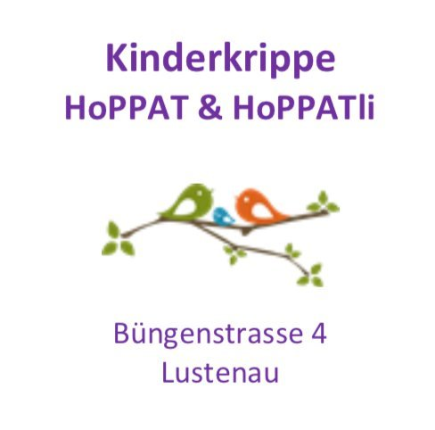 Kinderkrippe HoPPAT & HoPPATli Lustenau