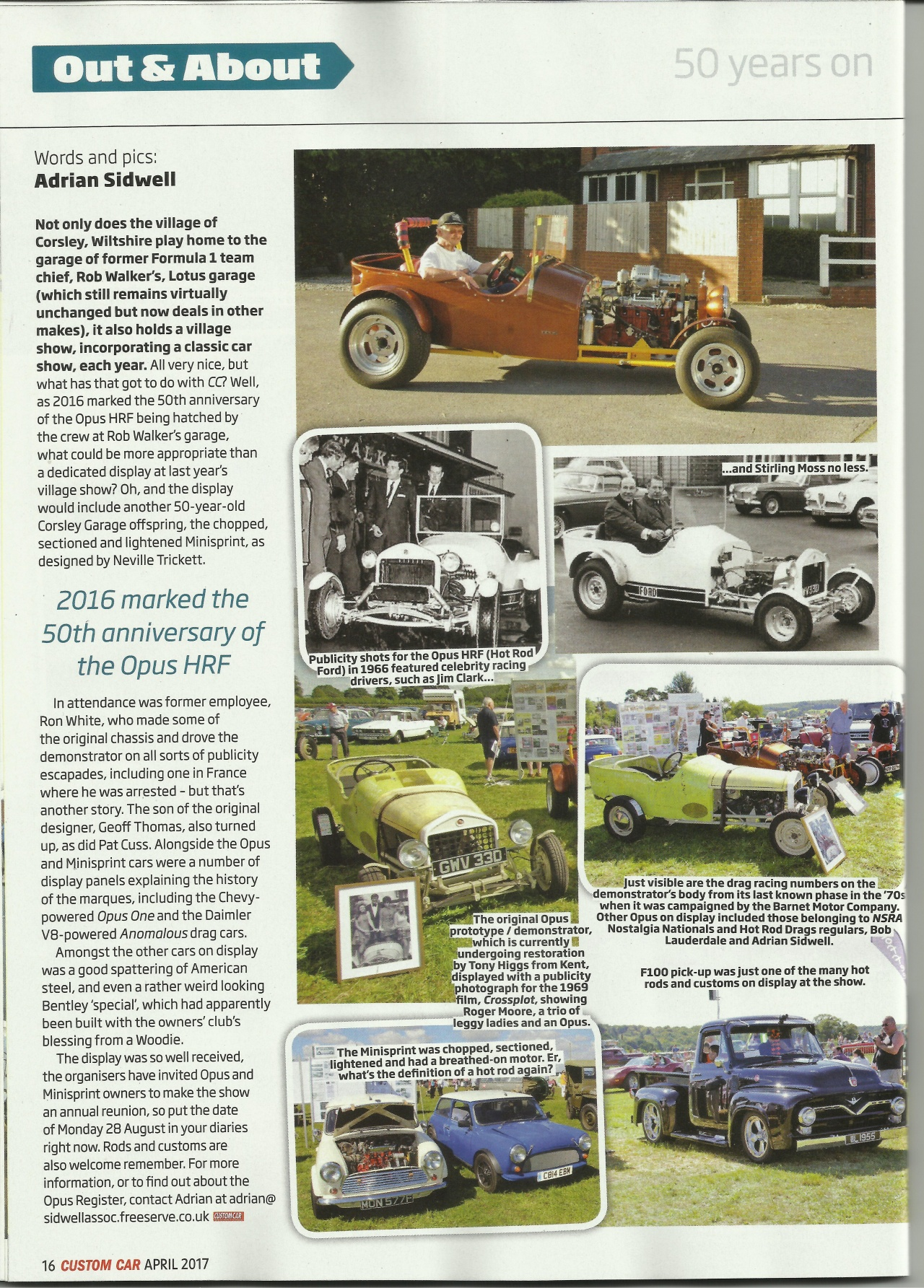 Custom Car Article