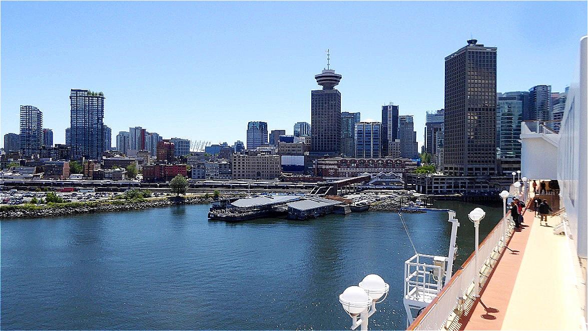 Teil der City von Vancouver