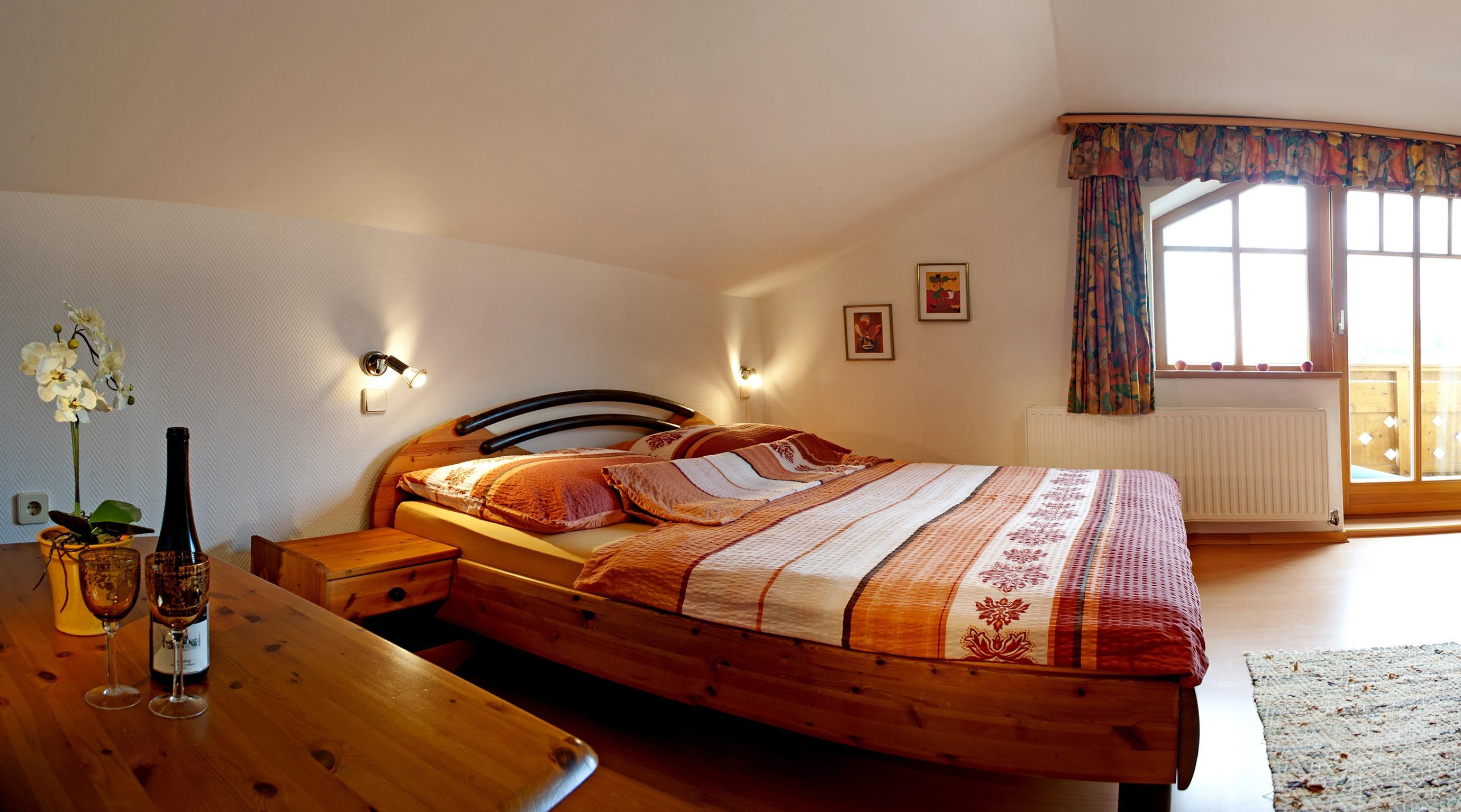 Wohn-Schlafraum Ferienwohnung für 2 - 3 Personen
