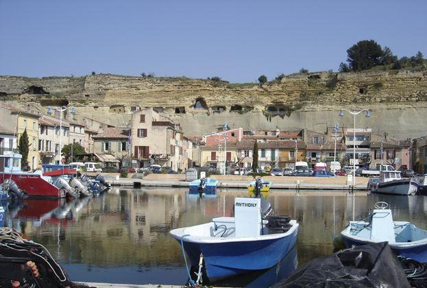 Le port de pêche de Saint-Chamas