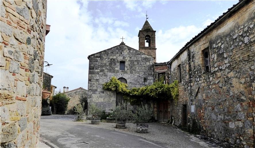 Im kleinen Dorf San Donato