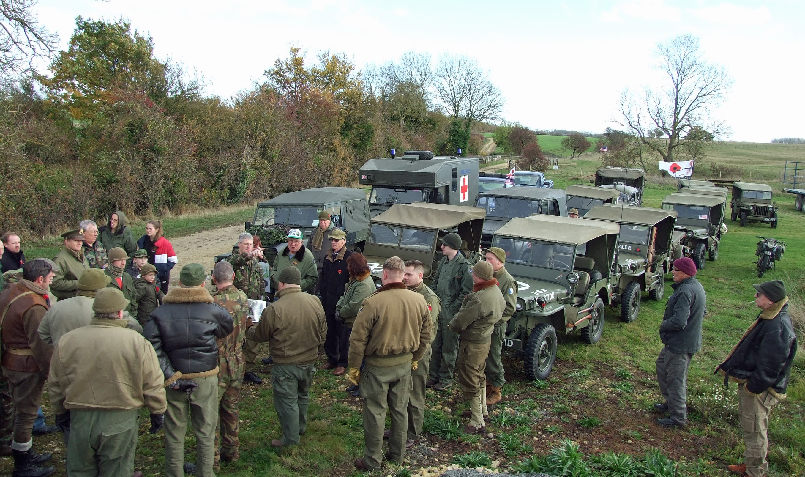 Drivers learn the history of Fotheringhay Castle
