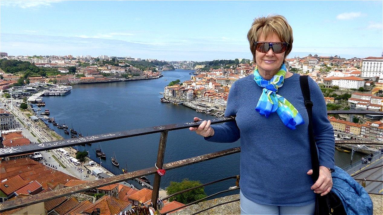 Über dem Duoro in Vila Nova de Gaia - Porto