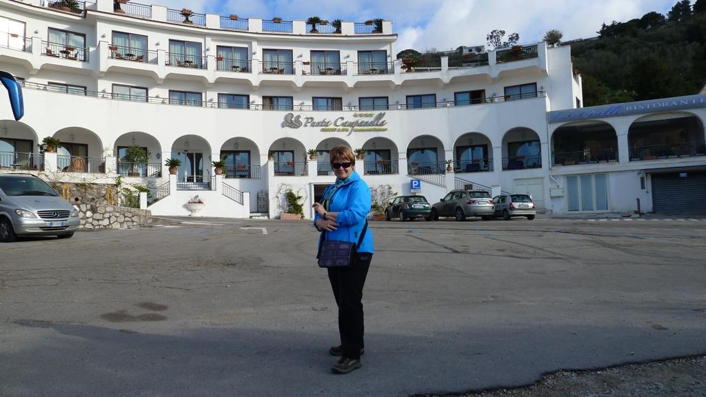Das Hotel in Marina del Cantone Von hier starteten wir unsere täglichen Wanderungen