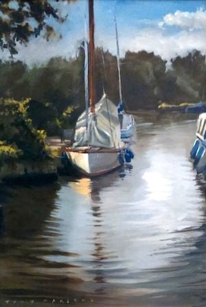Womack Staithe Oil Tony Parsons