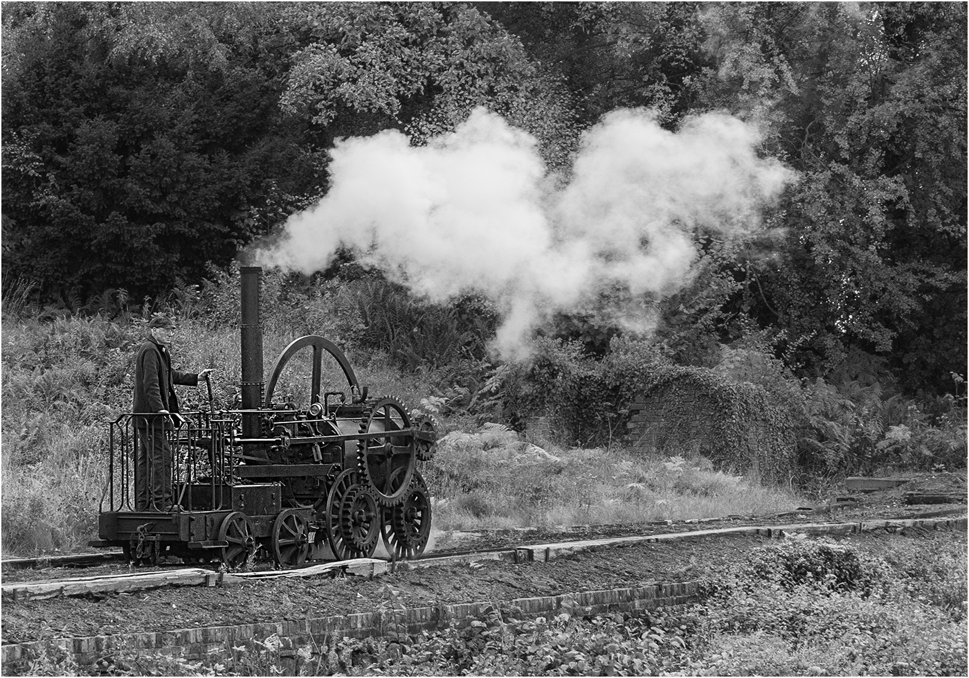 Commended: Trevithick Steam Loco 1802 (Bryan Organ)