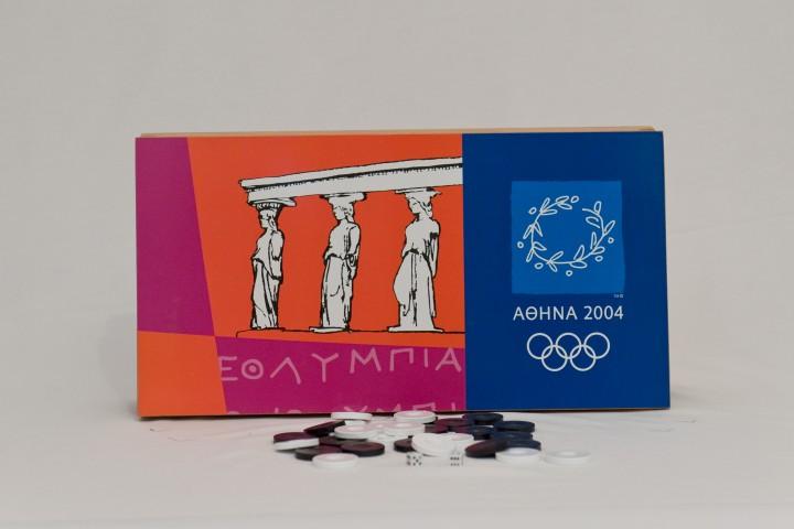 ΚΩΔ. 1048ΟΛ Τάβλι Ολ. Αγώνες 2004 50x50cm