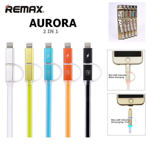REMAX Data Cable 2in1 Ρωτήστε μας για τιμή