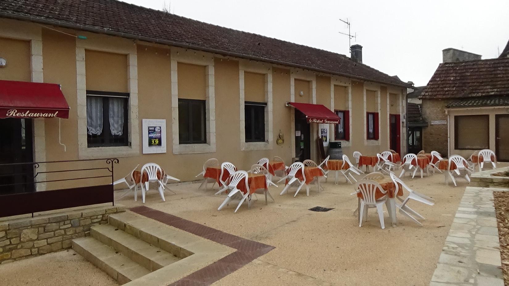 "Le restaurant ""Le bistrot gourmand"""