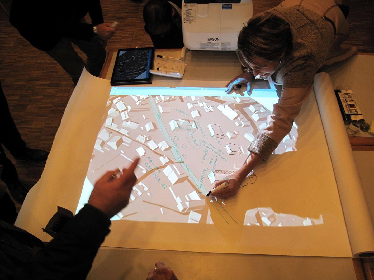 Bürgerbeteiligungsworkshop zur Zentrumsentwicklung (C:MG Hard)